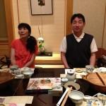 梅の花 蒲田店  娘からの       プレゼン父の日 予約したありました。